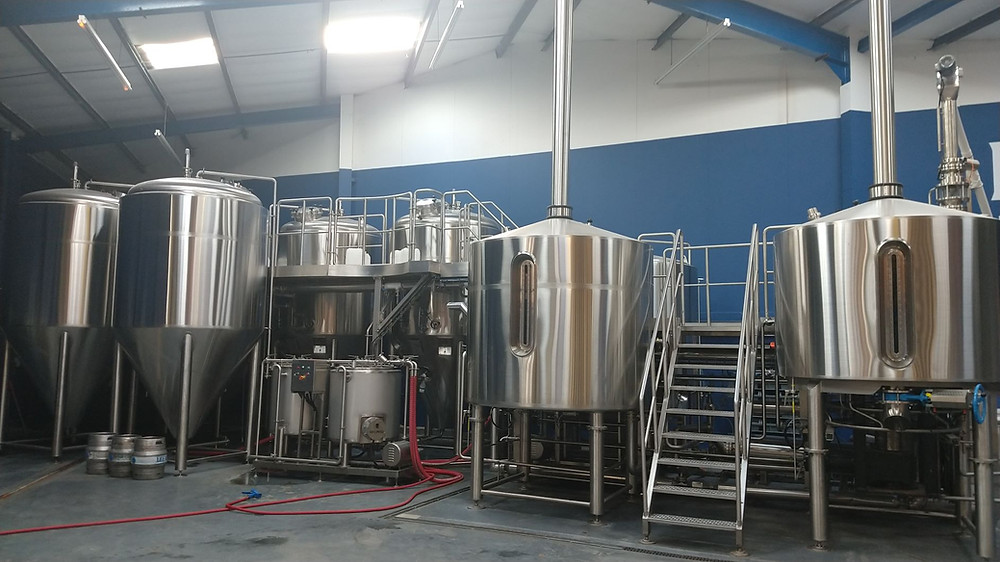 Leeds Brewery's new brew kit