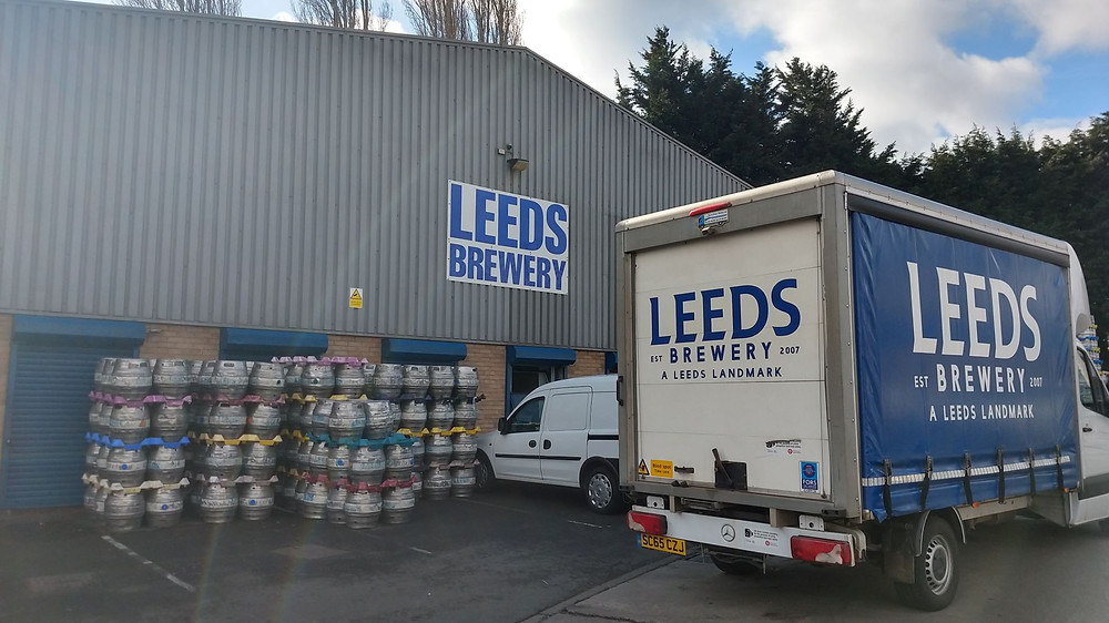 Outside Leeds Brewery