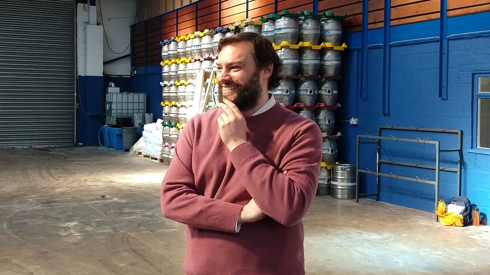 Leeds Brewery co-owner Sam Moss