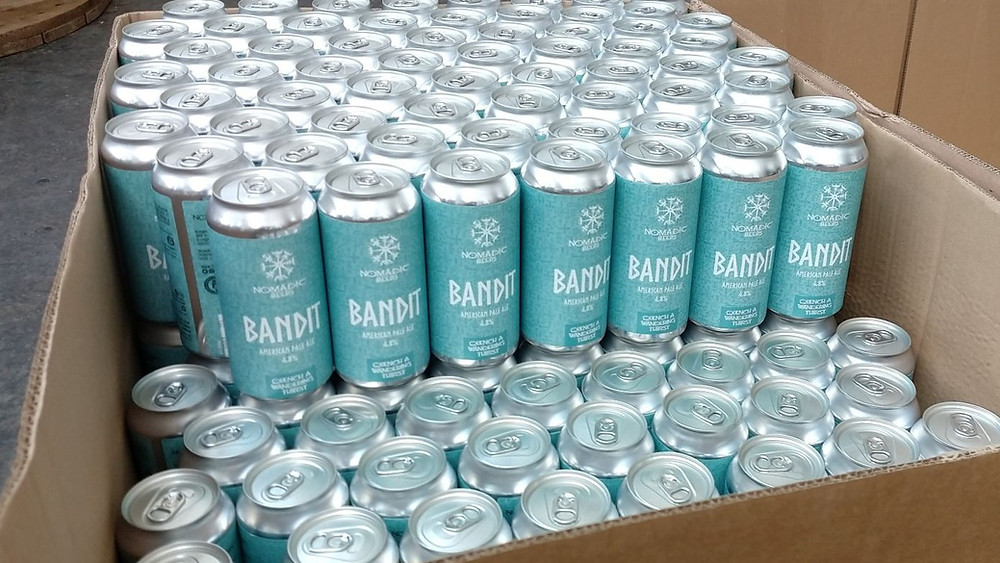 American pale ale called Bandit, in cans.