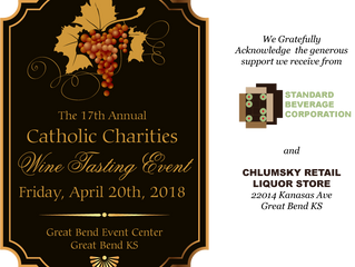 The 17th Annual Catholic Charities Wine Tasting Event