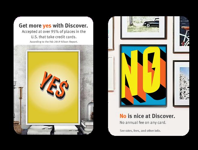 Typographic Pinterest Ad
