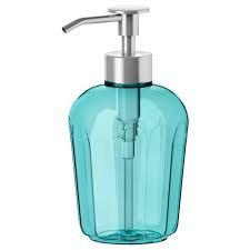 Soap Dispenser Plastic Blue