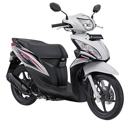 Bali rent scooter Honda spicy 110cc