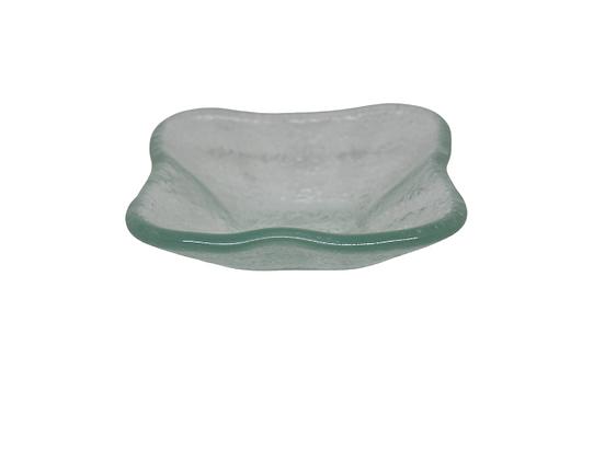 Glass Dish Bunga