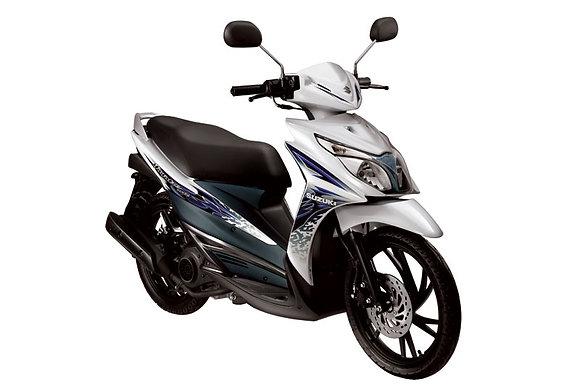 Bali rent motorbike Suzuki hayate 125cc