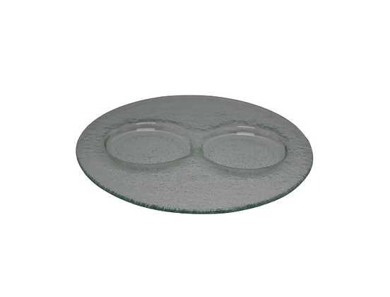 Glass Plate 2 Holes