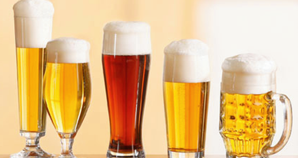 glassware for beer in bali indonesia