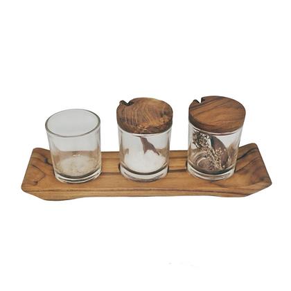 Wood Spice Glass