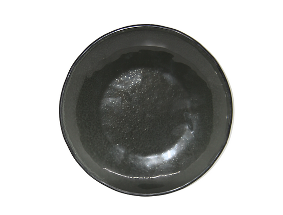 Black Recycled Plate