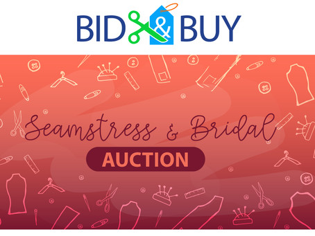 Last Call for Seamstress and Bridal Auction