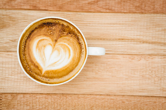 view-of-a-heart-composed-of-coffee-on-wo