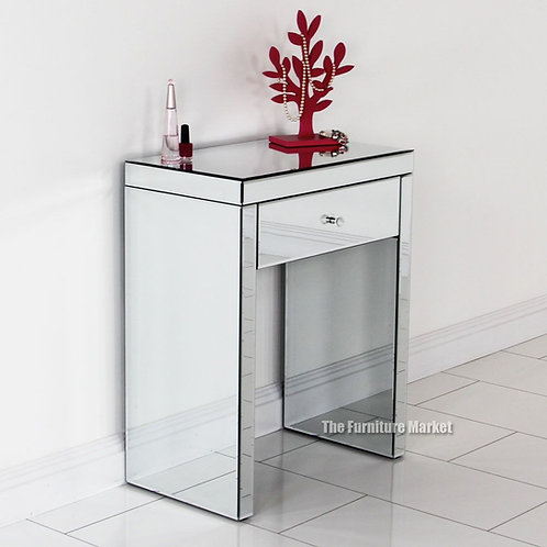 Florence 1 Drawer Mirrored Console Unit