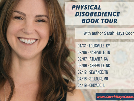 Physical Disobedience Spring Book Tour