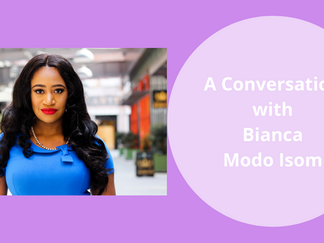 A Conversation with Bianca Modo Isom