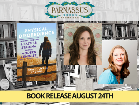 AUGUST 24TH, NASHVILLE PHYSICAL DISOBEDIENCE BOOK RELEASE PARNASSUS BOOKS