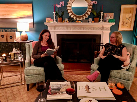 11/10: Wine, Cheese, Chocolate, and Book Chat