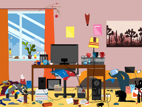 """Clearing out a """"Clutter Catastrophe"""""""