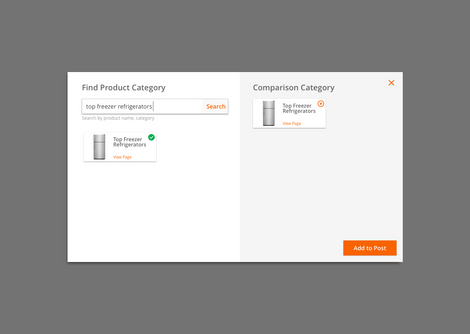 Product Search Modal