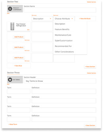 Article Section Templates