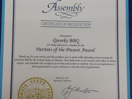 Patriots of the Present Award: Assemblyman Jay Obernolte