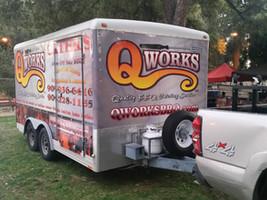 Qworks Support Trailer