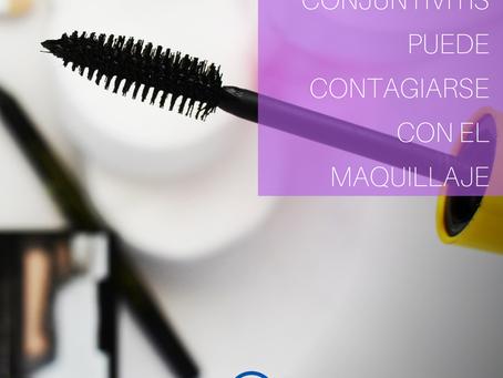 La Conjuntivitis y el maquillaje