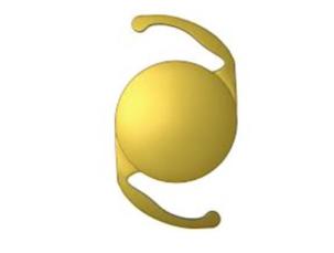 Lente intraocular monofocal