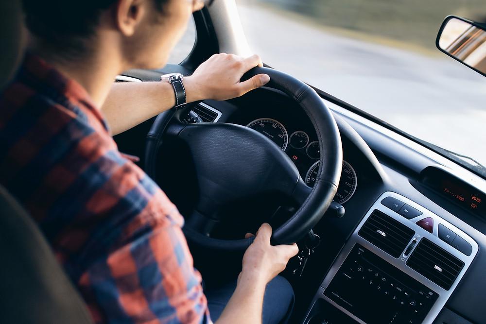 seguridad al manejar