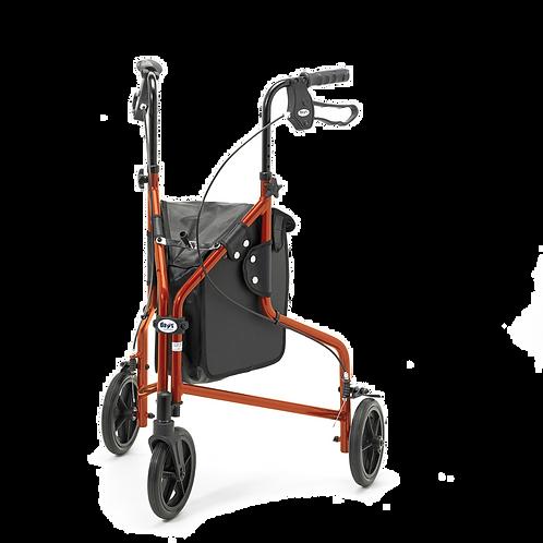 Days Lightweight Aluminium Tri Wheel Walker with Bag
