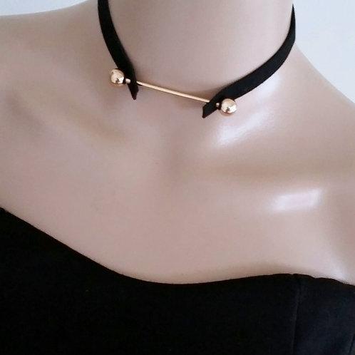 New Trendy Punk Style Black Velvet Retro Choker for Women Girl Choker Necklace