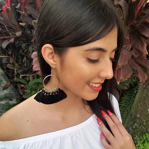 Boho, Ethnic, Bohemian, Tassel Women Earrings