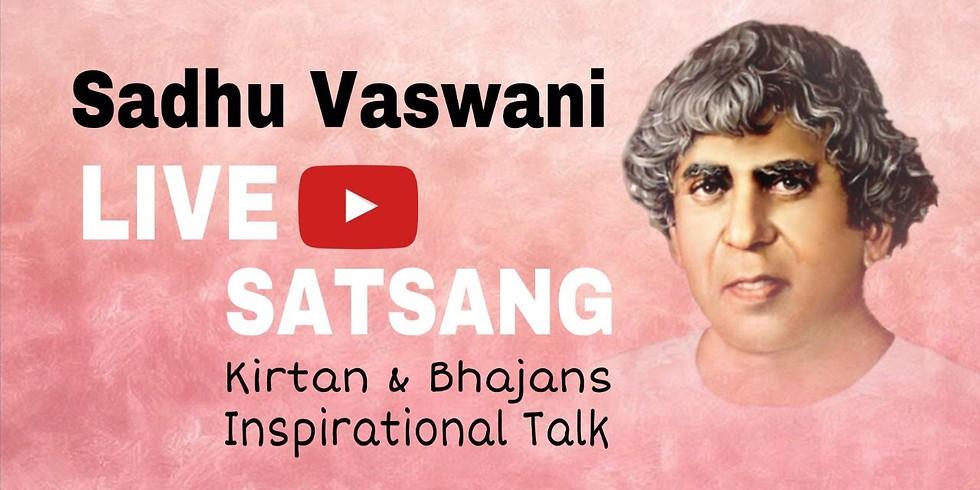 Sunday Evening LIVE Virtual Satsang   November 15, 2020