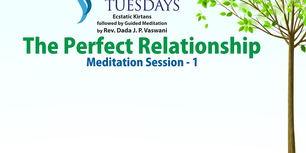TRANQUIL TUESDAYS | LIVE Kirtan & Meditation on The Perfect Relationship - Part 1 | July 6, 2021