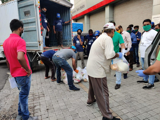 Sadhu Vaswani Mission helps needy Muslim families celebrate Eid during Corona Pandemic