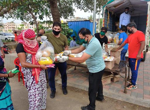 Pimpri-Chinchwad Karuna Seva by Sadhu Vaswani Mission continues..