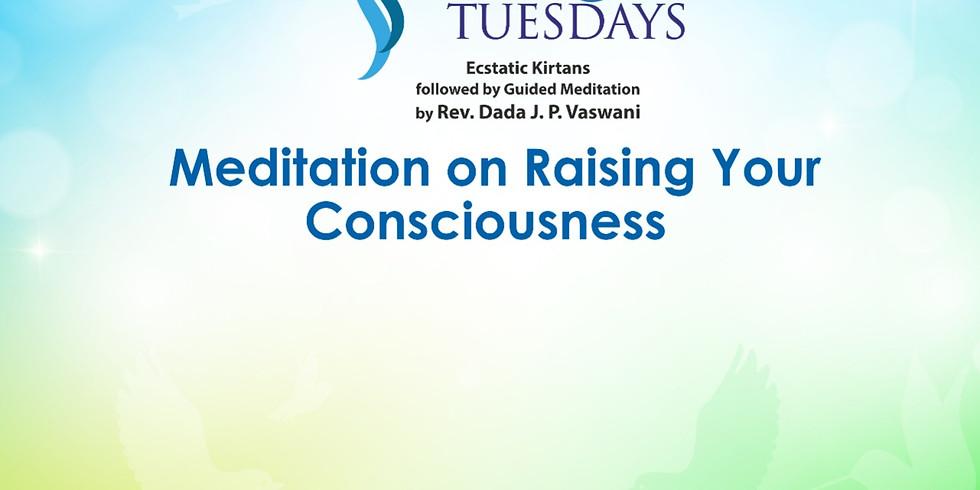 TRANQUIL TUESDAYS | LIVE Kirtan & Meditation on Raising Your Consciousness | May 25, 2021