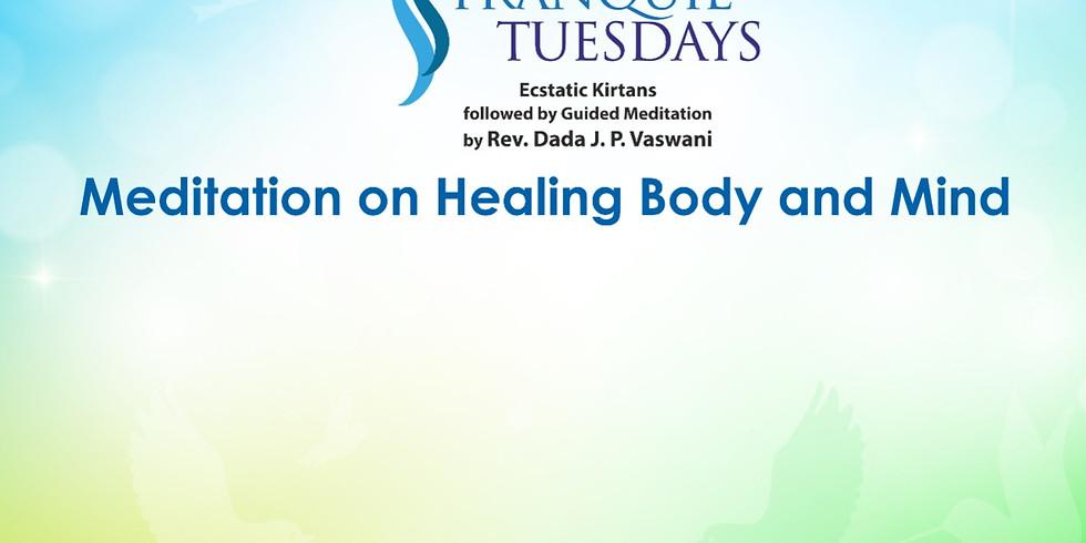 TRANQUIL TUESDAYS | LIVE Kirtan & Meditation on Healing Body & Mind | May 18, 2021