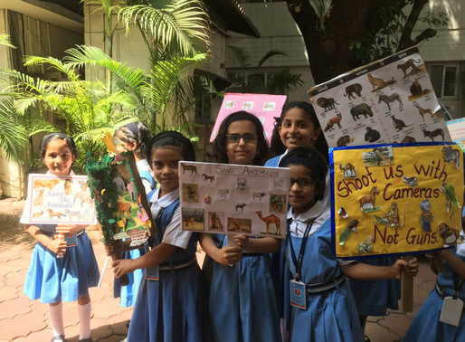 World Animals Day observed by Sadhu Vaswani Mission Schools Pune