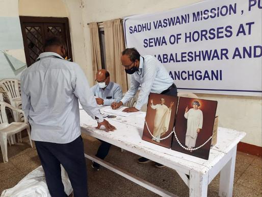 Sadhu Vaswani Mission to the rescue of 150 more horses!