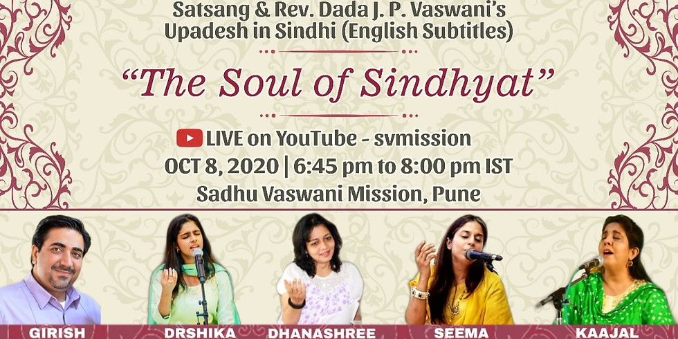 The Soul of Sindhyat | LIVE Satsang & Dada Vaswani's Upadesh (English Subtitles)