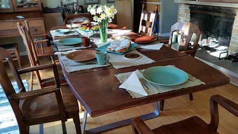Walnut Extension Table