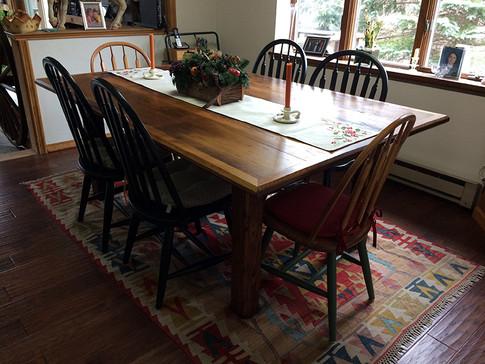 Chestnut Dinning Table