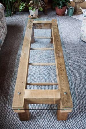 Barn Ladder Coffee Table