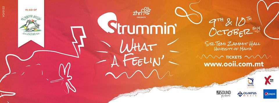 Strummin (What a fellin')_design by Jean Claude Vancell