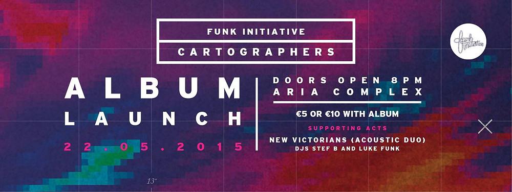 funk initiative cartographers album launch gig