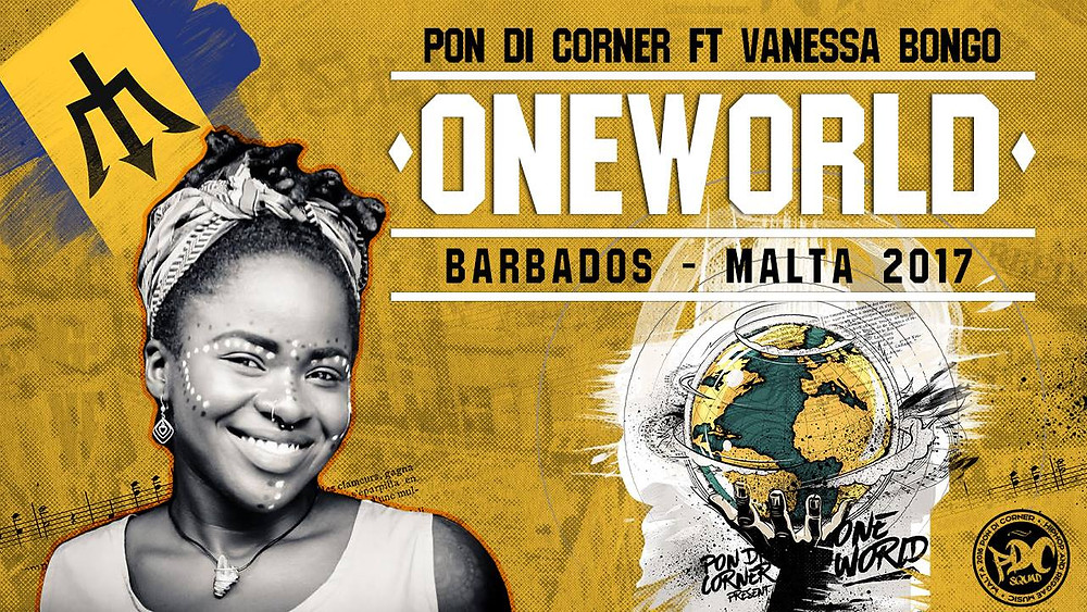 Pon Di Corner have teamed up with Vanessa Bongo for the title track of their new album