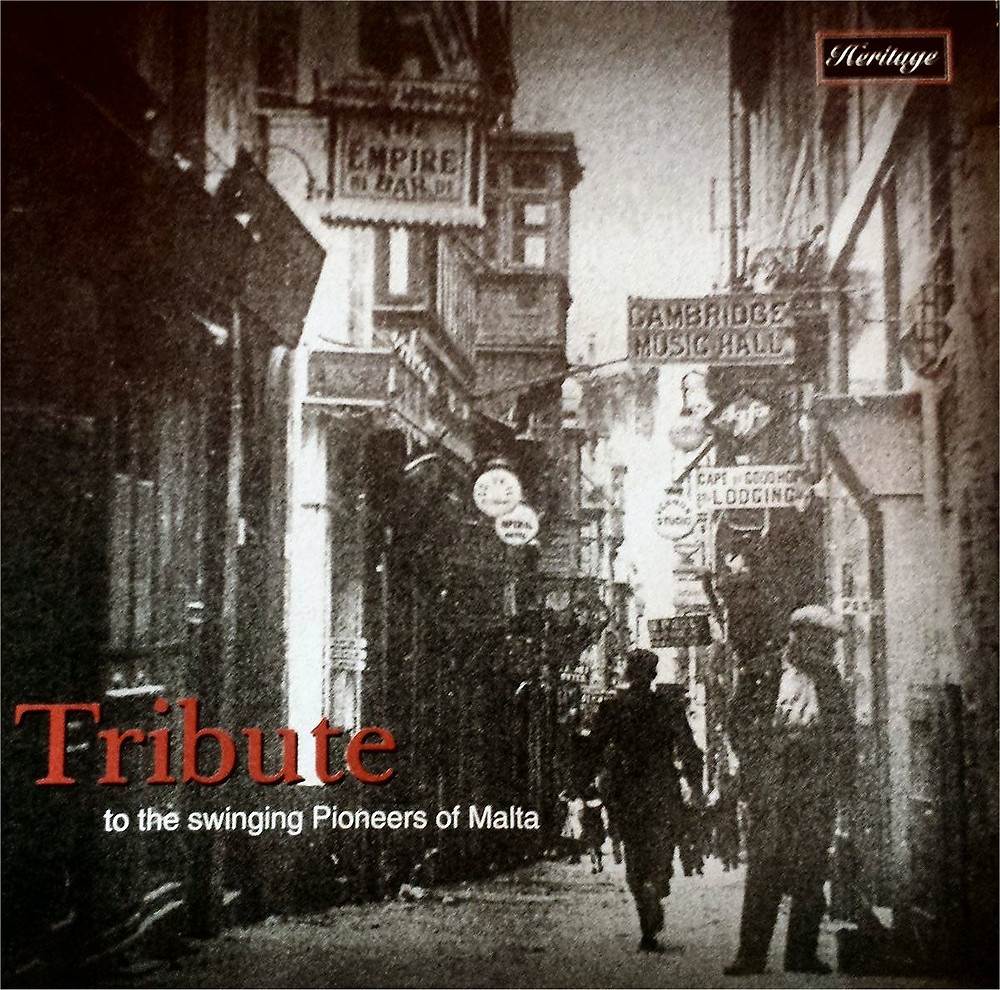 Malta, jazz, swing, pioneers, CD, Dominic Galea