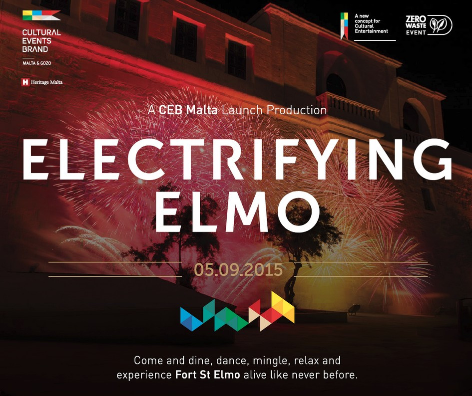 CEB Malta launch event Electrifying Elmo