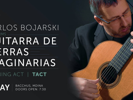 CLASSICAL GUITAR WORLD PREMIERE IN MDINA